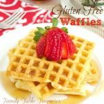 Buttermilk {Gluten Free} Waffles