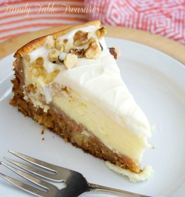 Carrot Cake Cheesecake Family Table Treasures