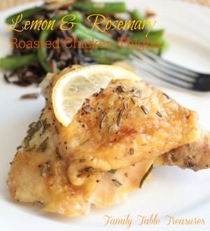 Lemon & Rosemary Roasted Chicken Thighs