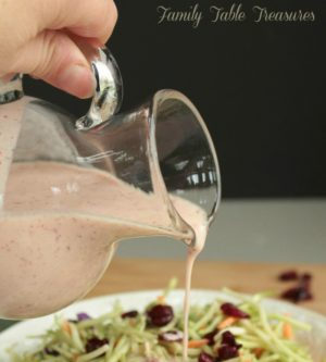 {Cranberry} Asian Ginger Dressing