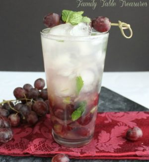 Refreshing Grape Mojito Recipe